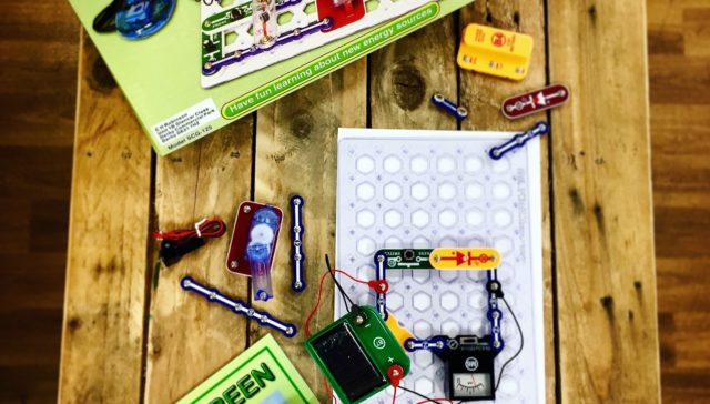 The Naturesave Trust funded Snap Circuits Green Energy Kits for education project