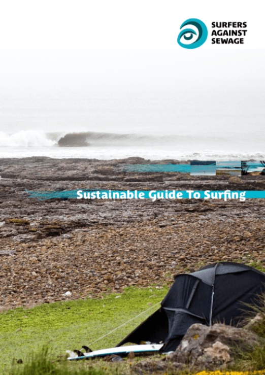 Sustainable Guide To Surfing - report part funded by The Naturesave Trust
