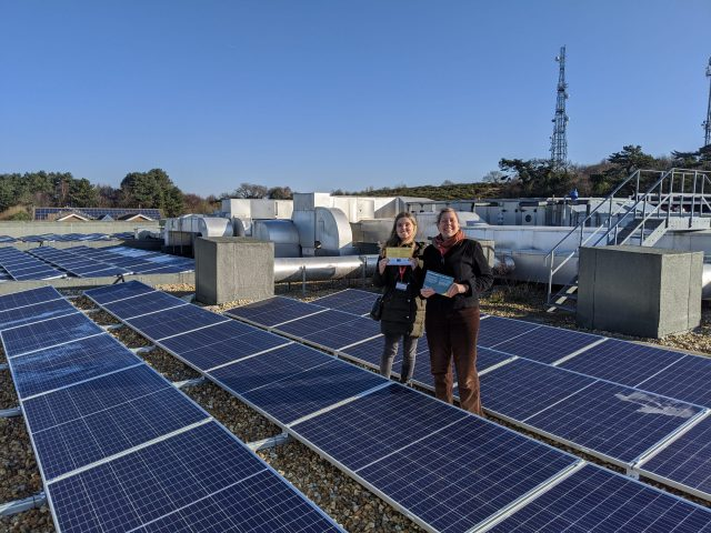 Donation by The Naturesave Trust aids Community Society to install Solar PV on Hastings' Community Buildings