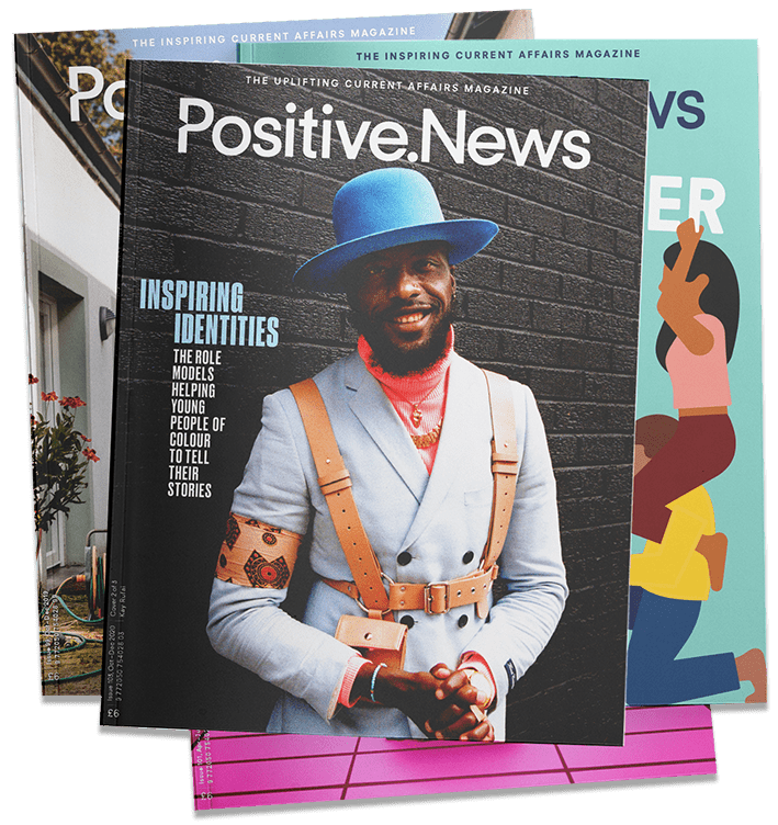 Positive news magazine free subscription